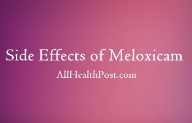 7 Serious Side Effects of Meloxicam