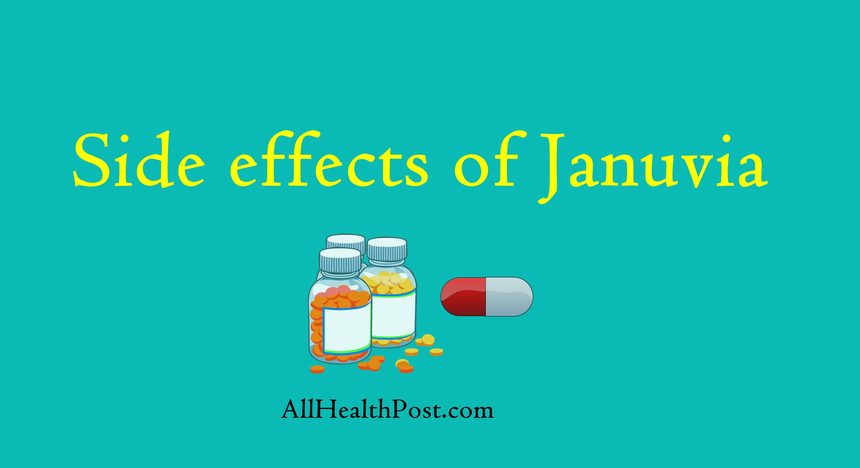 Common Side effects of Januvia